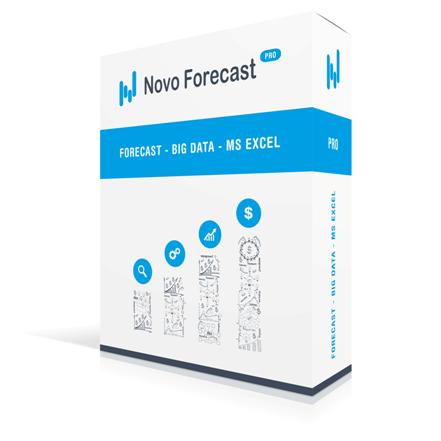 Novo Forecast Lite – бесплатное приложение для расчета прогноза по одному временному ряду